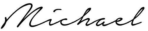 Michael Signatur